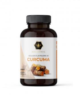 60 gélules à la poudre de curcuma