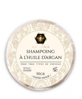 Shampoing solide à l'huile d'argan 50g
