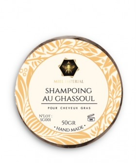 Shampoing solide ghassoul 50g