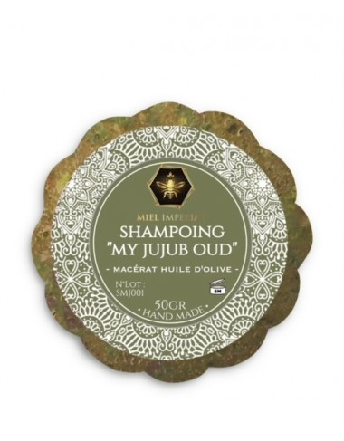 Shampoing solide My Jujub Oud 50g